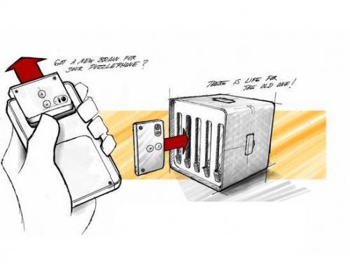 Peças antigas de smartphone modular podem virar supercomputador