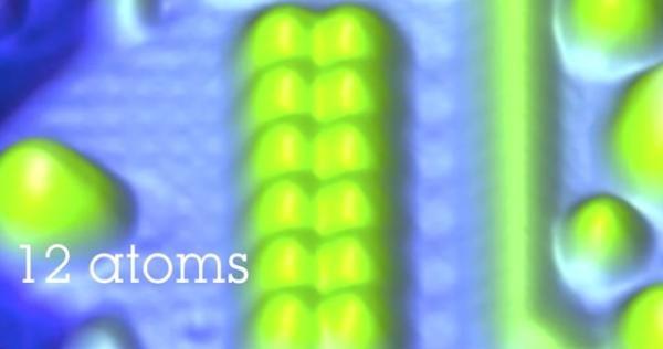 Com avanço da IBM, 1 bit passa a ocupar apenas 12 átomos (Fonte da imagem: Reprodução/IBM)