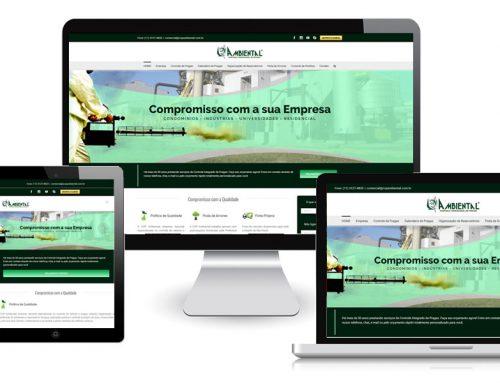 Cop Ambiental – Site Responsivo Gerenciável + Otimização SEO Avançada + Redes Sociais