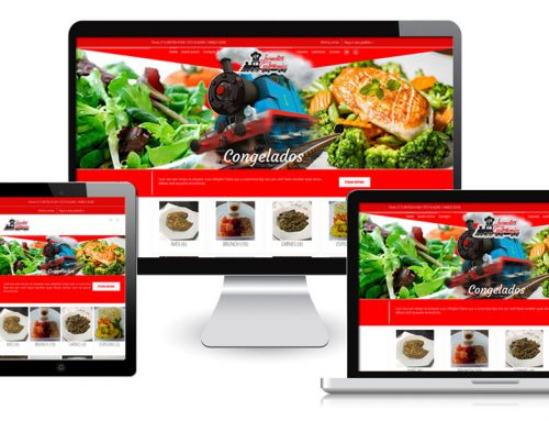 Locomotiva Gastronomica – Site Responsivo Gerenciavel Tipo Loja Virtual + Otimização SEO + Controle de Estoque